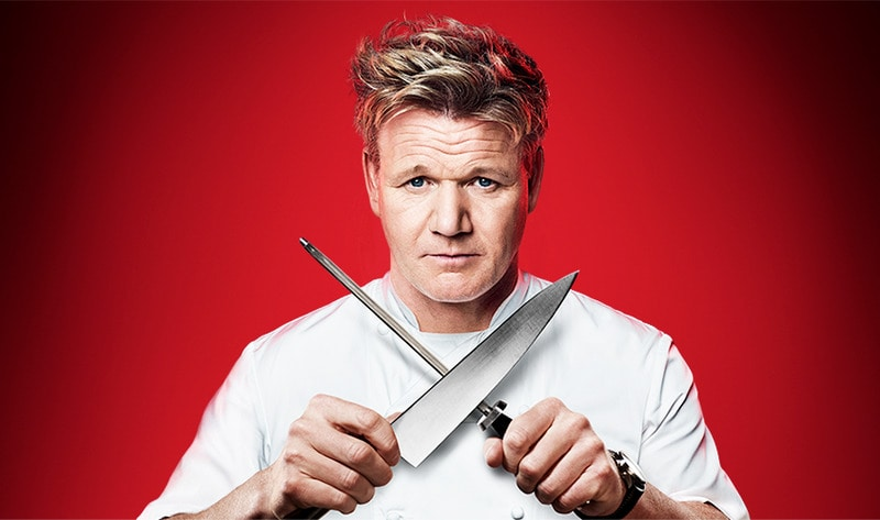 Gordon Ramsay Crossing Knives
